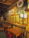 Viejo bar de vinos en Londres, Inglaterra Foto de archivo libre de regalías