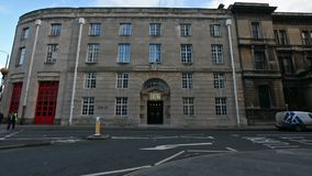 Viejo Bristol Police Headquarters Building metrajes