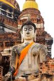 Viejo Buda Fotografía de archivo
