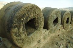 Viejo círculo de piedra Imagen de archivo libre de regalías