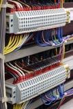 Viejo cableado eléctrico Imagen de archivo libre de regalías