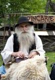 Viejo campesino Imagenes de archivo