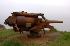 Viejo canon en Skansin Fotos de archivo
