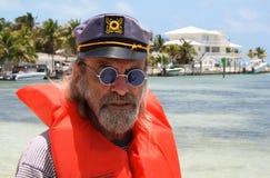 Viejo capitán Imagen de archivo