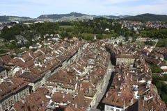 Viejo centro de Berna Fotos de archivo