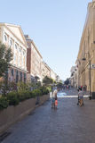 Viejo centro de Civitavecchia, Italia Imagen de archivo
