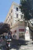 Viejo centro de Civitavecchia, Italia Fotos de archivo