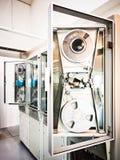 Viejo centro de proceso de datos electrónico Imagen de archivo