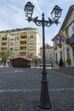 Viejo centro de Vevey, Suiza Imagen de archivo libre de regalías