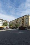 Viejo centro de Vevey, Suiza Fotos de archivo libres de regalías
