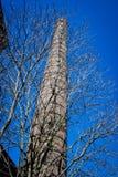 Viejo chimne de la fábrica Foto de archivo