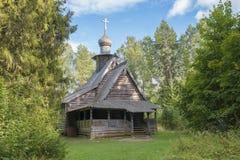 Viejo Christian Church de madera Fotos de archivo