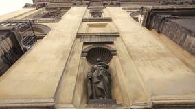 Viejo cierre de la arquitectura de Lviv para arriba almacen de metraje de vídeo