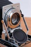 Viejo cierre de la cámara para arriba imagenes de archivo