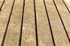 Viejo cierre de madera de Brown encima del fondo Foto de archivo