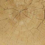 Viejo cierre de madera de la textura del marco del cuadrado del grano del color natural para arriba Fotos de archivo