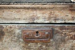 Viejo cierre de madera del fondo para arriba Imágenes de archivo libres de regalías