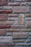 Viejo cierre rojo de Alemania del fondo de la textura de la pared de ladrillo para arriba fotografía de archivo libre de regalías