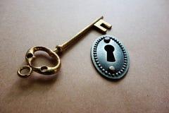 Viejo clave Foto de archivo libre de regalías