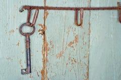 Viejo clave antiguo imagen de archivo