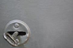 Viejo clave de acero Foto de archivo