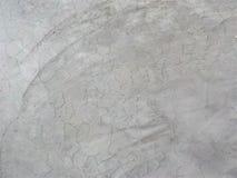 Viejo color del blanco de la textura del cemento fotos de archivo