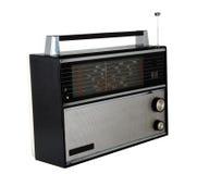 Viejo conjunto de radio Foto de archivo libre de regalías