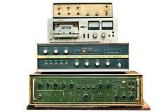 Viejo control electrónico Foto de archivo