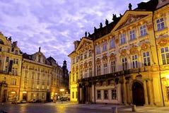 Viejo cuadrado de ciudad Praga, República Checa Fotos de archivo libres de regalías