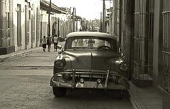 Viejo cubano machine-2 Foto de archivo