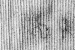 Viejo cuerpo del camión con la piel oxidada Imagen de archivo