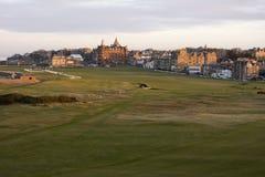 Viejo curso del St Andrews Foto de archivo libre de regalías
