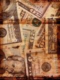 Viejo dólar americano Imagen de archivo libre de regalías