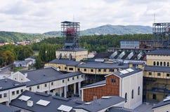 Viejo ` de la mina del ` en Walbrzych, Polonia foto de archivo