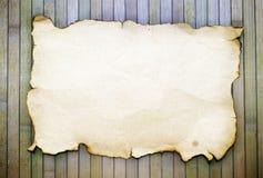 Viejo de papel quemado Imagenes de archivo
