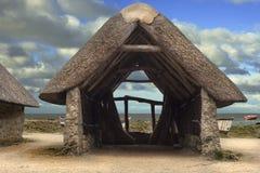 Viejo depósito: Pequeña casa rocosa antigua del depósito en Francia Fotografía de archivo libre de regalías