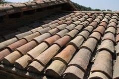 Viejo desplome de tablas de madera Imagenes de archivo