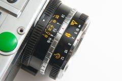 Viejo detalle de la cámara Fotos de archivo libres de regalías