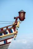 Viejo detalle de la nave de la vela del buque Foto de archivo