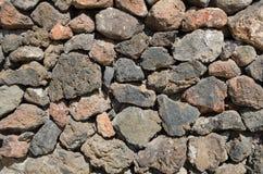 Viejo detalle de la pared de piedra Imagen de archivo libre de regalías