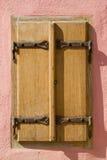 Viejo detalle de la ventana foto de archivo libre de regalías