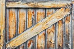 Viejo detalle de las puertas de granero fotos de archivo