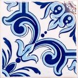 Viejo detalle de los azulejos Fotografía de archivo libre de regalías