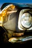 Viejo detalle del coche imagen de archivo libre de regalías
