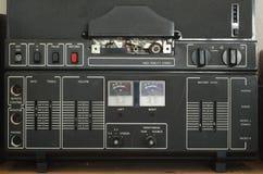Viejo detalle del magnetophone Imágenes de archivo libres de regalías