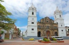 Viejo di casco di Panama City Fotografia Stock
