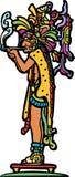 Viejo dios maya que fuma libre illustration