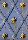 Viejo diseño de la puerta Imagenes de archivo