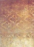 Viejo diseño descolorado sucio desgastado Imágenes de archivo libres de regalías