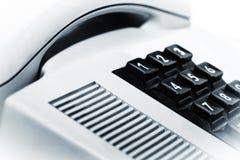 Viejo dispositivo de comunicación clásico del teléfono del vintage Fotos de archivo